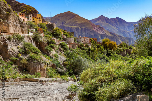 Landscape view of a little village of Iruya, Argentina © Spectral-Design