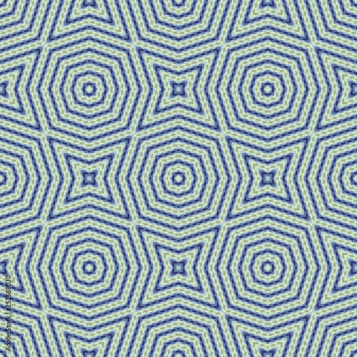 obraz PCV Seamless pattern of abstract figures consisting of small simple elements. Vector image for the design of textiles, tiles, wallpaper.