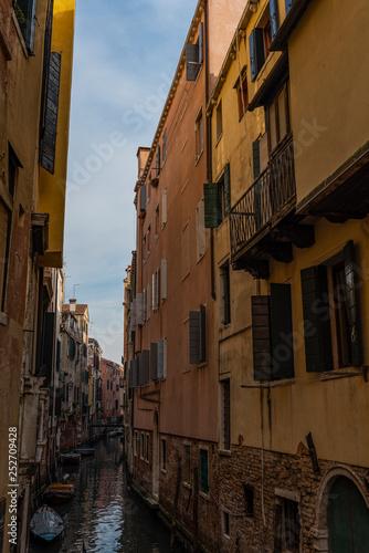 old street in venice italy - 252709428