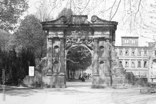 mata magnetyczna historical building