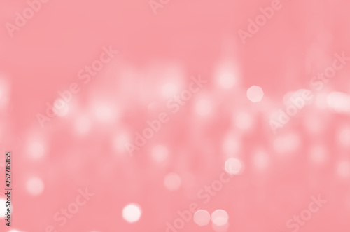 pink bokeh blurred abstract light wallpaper background. - 252785855