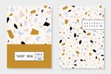 Collage and Terrazzo Brochure Design Templates - 252815428