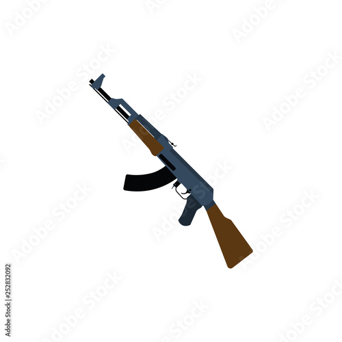 Russian weapon rifle icon © Konovalov Pavel