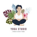 Body positive yoga concept - 252869434