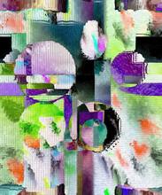 "Постер, картина, фотообои ""Color abstract and art design"""