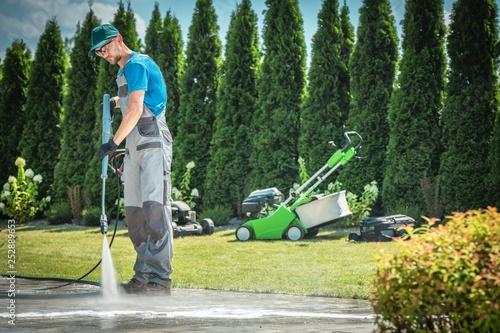 Pressure Washing Job