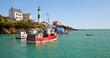 Port breton de Doëlan dans le Finistère