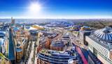 Fototapeta Miasto - panoramic view at the potsdamer platz, berlin © frank peters