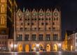 Leinwandbild Motiv Stralsund - Rathaus am Alten Markt