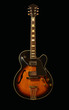 Jazz hollow body vintage electric guitar