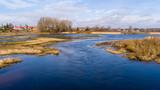 Fototapeta Łazienka - Wiosna nad Narwią. Dolina Górnej Narwi. Rozlewiska Narw © podlaski49