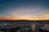 Tokyo Sunset Mt Fuji