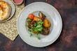 Kazan kebab on plate
