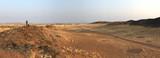 Photographer at dusk, Namibia