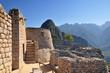 Machu picchu (old mountain), pre columbian inca site situated on a mountain ridge above the urubamba valley in Peru.