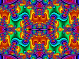 Fabulous multicolored pattern. You can use it for invitations, notebook covers, phone case, postcards, cards. Artwork for creative design and art. - 253002064