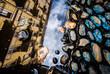 Riflesso sulla pozzanghera a Torino