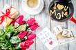 Leinwanddruck Bild - Mother's day greeting background