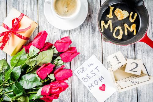 Leinwanddruck Bild Mother's day greeting background