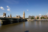 Fototapeta Big Ben - Big Ben at the end of Westminster Bridge, London © Neil Lang