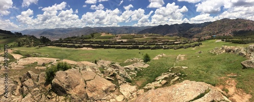 Panorama at Cusco Peru - 253086250