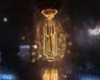 Leinwanddruck Bild - LED Filament Light Bulb