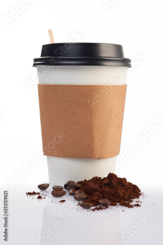 coffee cup isolated on white background © El Autobus