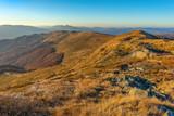 Fototapeta Las - Bieszczady. Beautiful mountain landscape in autumn. Poland © BajeczneObrazy.pl