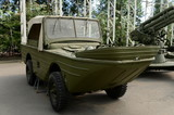 Floating amphibious vehicle
