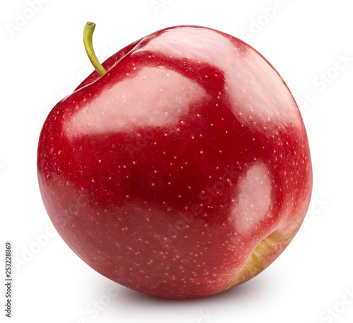 Red apple isolated on white - 253228869