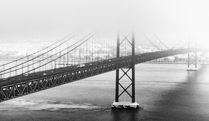 Bridge of 25th April, Lisbon © 4th Life Photography
