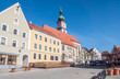 Leinwanddruck Bild - Sulzbach-Rosenberg in der Oberpfalz