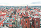 Fototapeta Na sufit - Wroclaw from above © Ruslan