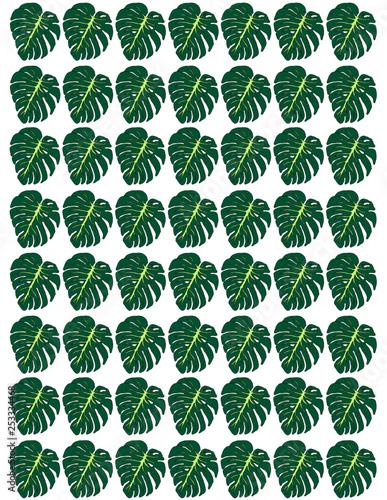 Green leaves  - 253334468