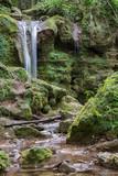 Beautiful waterfall in Eastern Slovakia, Hajske Vodopady
