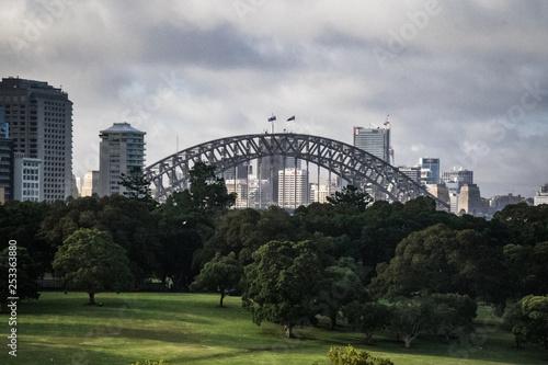 obraz lub plakat Sydney Harbour Brücke Australien