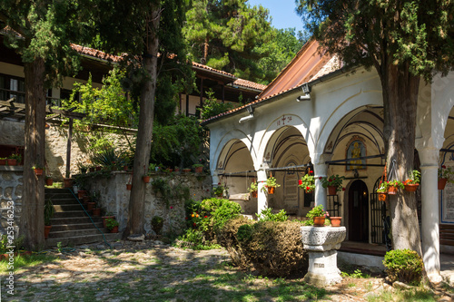 Medieval Buildings in Maglizh Monastery of Saint Nicholas, Stara Zagora region, Bulgaria - 253416253