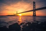 The SF Bay Bridge