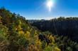 Autumn in Saxon Switzerland (Elbe Sandstone Mountains). Germany.