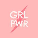 GRL PWR Typographic Design - 253534831