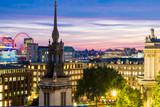 Fototapeta Londyn - View of London at Night © Chris