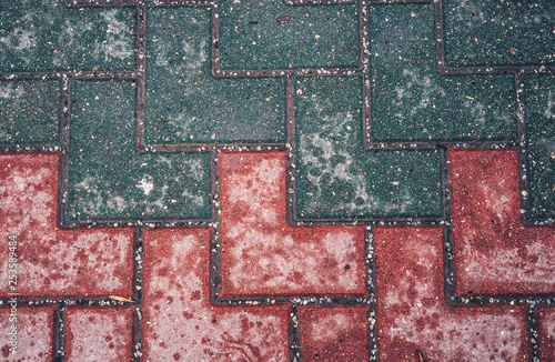 background of pavement - 253589484