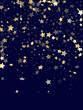 Gold gradient star dust sparkle vector background. - 253600212