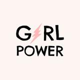 GRL PWR Typographic Design - 253628823