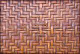 handmade bamboo or wicker weave texture background