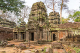 Sanctuary with tower. Ta Prohm temple, Cambodia
