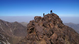 mountain trekking in High Atlas Morocco