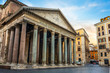 Leinwanddruck Bild - Ancient Pantheon in Rome