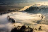 Fototapeta Na ścianę - Panorama lungo il fiume Adda © scabrn