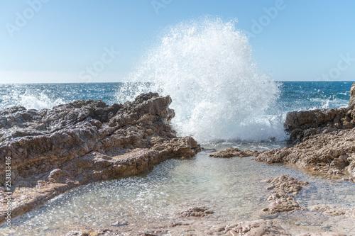 vague au Cap d'Antibes - 253833416